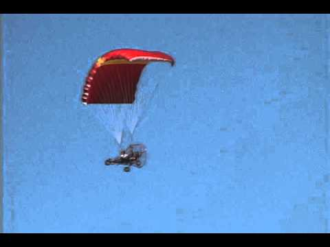 Buckeye Powered Parachute - In Flight - Ultralight Aircraft