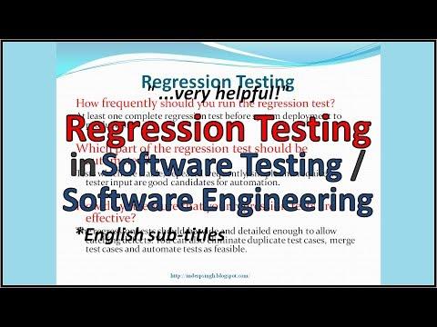 Regression Testing tutorial