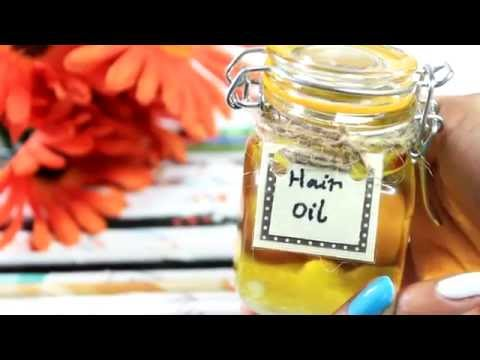 HOW TO GROW YOUR HAIR IN 24 hours: DIY MIRACLE HAIR OIL