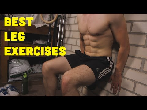It's LEG DAY! Top 10 Bodyweight And Dumbbell Leg Exercises