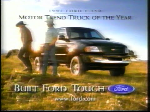 1997 Ford F-150 commercial featuring Jack Palance