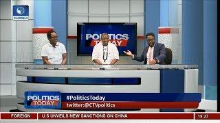Okolugbo, Jimoh Face-Off On NASS Blockade, Akpabio's Defection,2019 Polls  Politics Today 