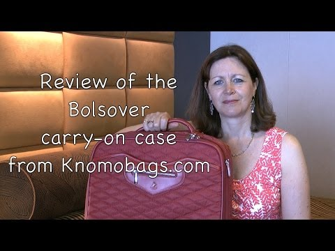 Review: Bolsover luxury carry-on case from Knomo