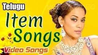 Telugu Item Songs Back 2 Back - Telugu Movie Songs - Video Songs Jukebox