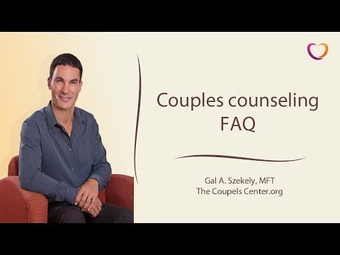 Couples counseling FAQ