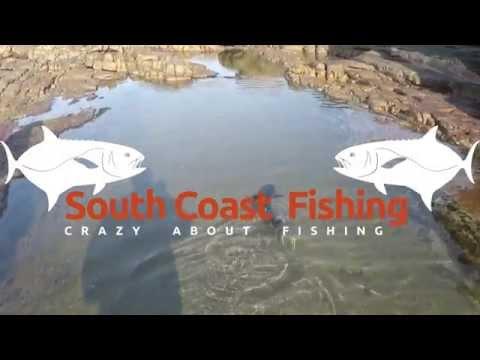 Garrick fishing Orange rocks