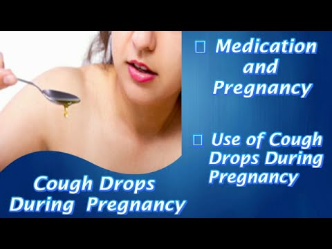 Cough Drops During Pregnancy