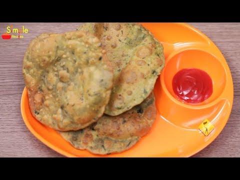 Palak Puri | Simple Recipes | Palak Puri Recipes | Simple Palak Puri Recipes