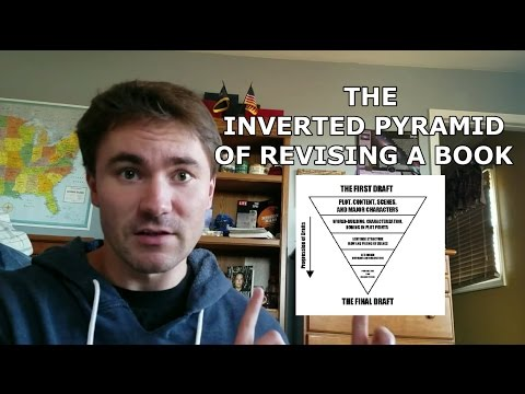 The Inverted Pyramid of Revising a Book [IN-DEPTH EDITING TIPS AND ADVICE]