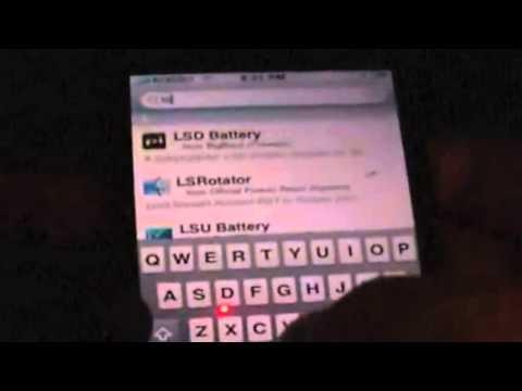 LSRotator iPhone and iPod Touch Cydia Tweak Lock Screen Rotator