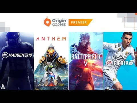 Origin Access – Great PC games, unlimited play