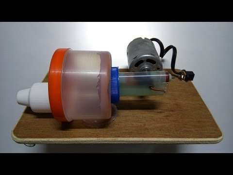How to make Air Pump for fish tank at home