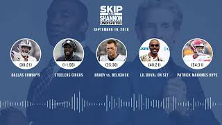 UNDISPUTED Audio Podcast (9.19.18) with Skip Bayless, Shannon Sharpe & Jenny Taft | UNDISPUTED