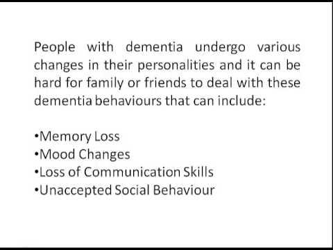 Dementia   Understanding Dementia