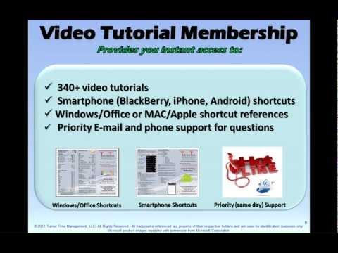 Technology Tools Management Training - Basic & Video