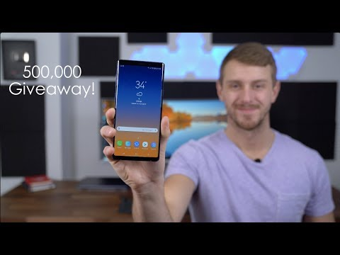 Samsung Galaxy Note 9 Giveaway: We Passed 500,000 Subscribers!!