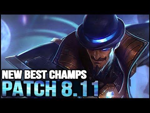 New Best Champions in Patch 8.11 SEASON 8 for Climbing in EVERY ROLE (League of Legends)