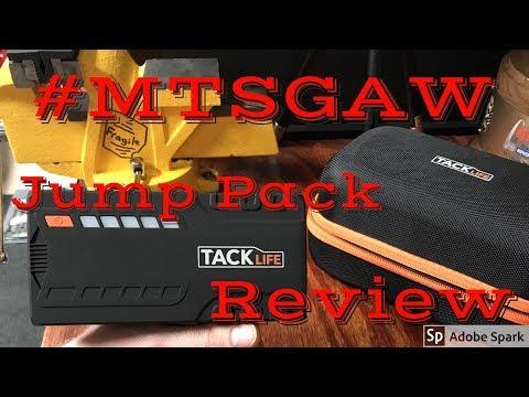 Tacklife Jump Box Review #MTSGAW Mikes Tool Shed