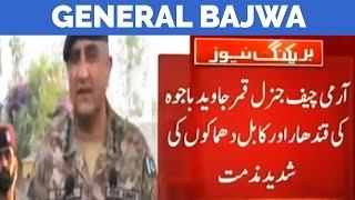 Kabul, Kandahar Blasts - Army Chief Gen Bajwa Responds