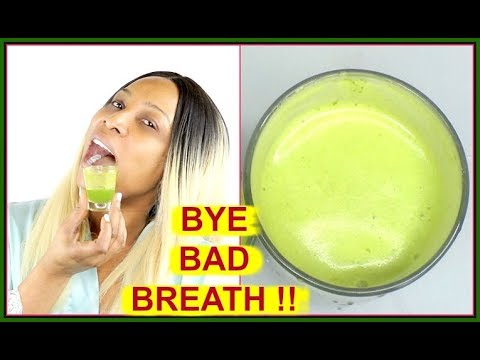 GET RID OF BAD BREATH NATURALLY AND INSTANTLY | SAY NO TO BAD BREATH |Khichi Beauty