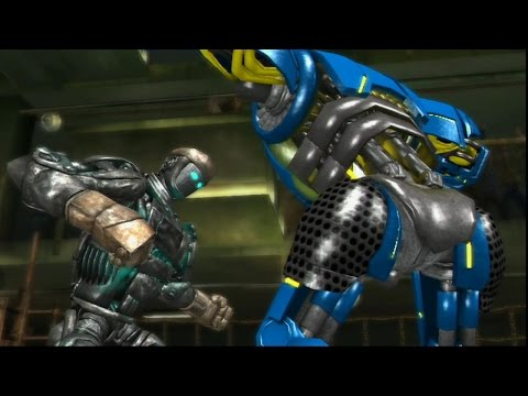 Real steel-The Beating Of The Atom//the people's champion vs Seahawk wrb robot(ЖИВАЯ СТАЛЬ)