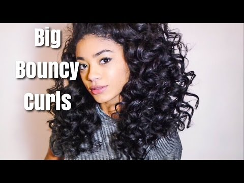 Big Bouncy Curls | jasmeannnn