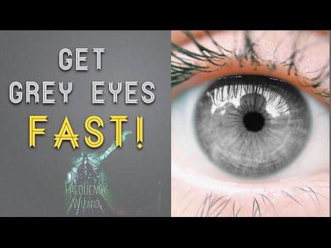 Get Grey Eyes Fast! Subliminal Frequencies Hypnosis Spell Biokinesis - Frequency Wizard