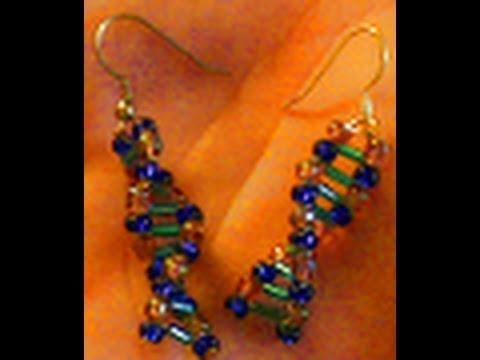 Tutorial: Making a Pair of DNA Earrings