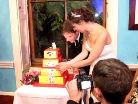 Operation game wedding cake!