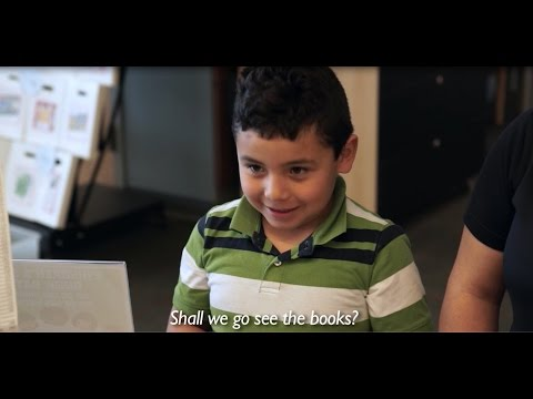 Ricardo Gets His First Library Card