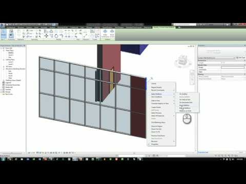 Revit Tips & Tricks   Curtain Panel Selection Join Geometry Doors