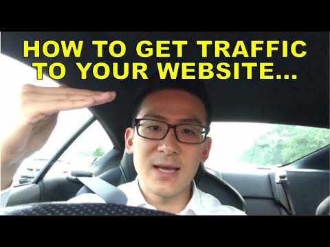 Learn How To Get Traffic To Your Website - Best 5 Ways!