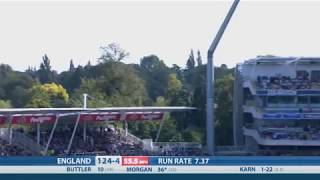 T20 Highlights - England v India, Edgbaston - England reach 180-7
