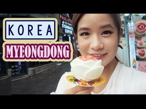 Shopping in Myeongdong & Haul