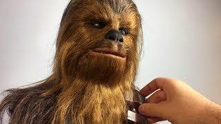 Chewbacca Sculpture Timelapse - Star Wars