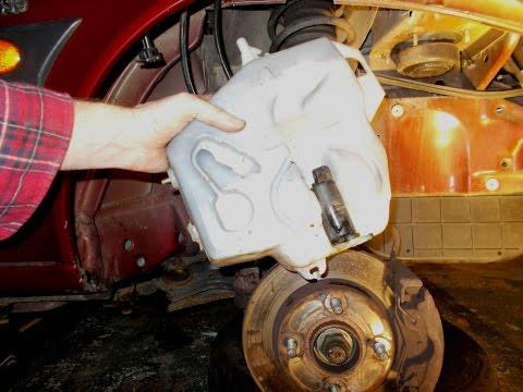 Ford Fiesta Washer Fluid Pump Change