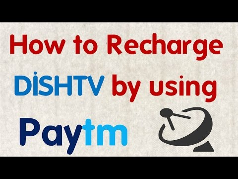 How to Recharge DISHTV by using Paytm || Technical Naresh