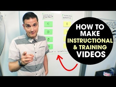 How to Create Training Videos (and Instructional Videos)