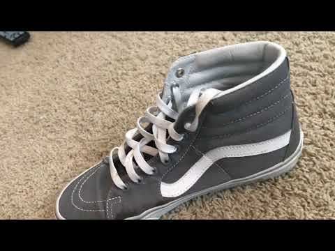 How to clean the white bottom of vans