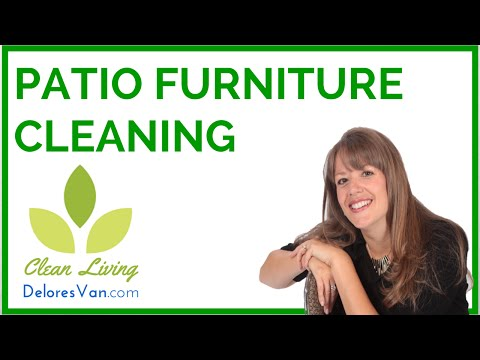 Norwex Clean, Patio Furniture, Glass Tables, Streak-Free Cleaning, Quick Eco Friendly