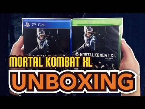 Mortal Kombat XL (Xbox One/ PS4 ) Unboxing!!
