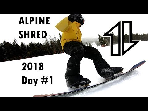 Re-learning how to Snowboard.  (alpine equipment)
