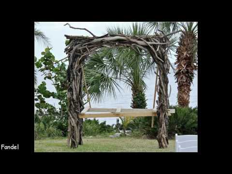 DIY Wedding Arbor Ideas
