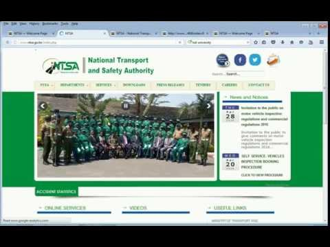 PSV FOR CONDUCTORS AND DRIVERS ON NTSA ONLINE