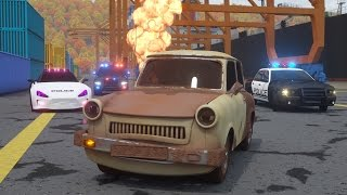 Catching Ace the Lemon Car - Sergeant Cooper the Police Car 2 | Police Chase Videos For Children
