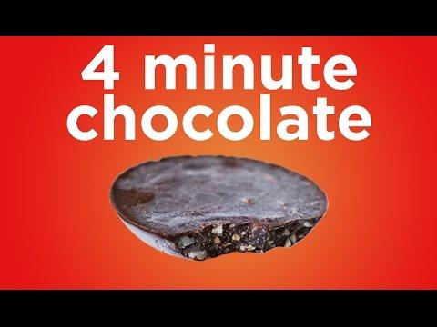 Guilt-free Chocolate in 4 Minutes - Sugar-free & Vegan