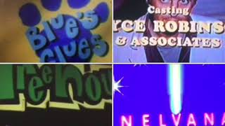 Blue's Clues, Cyberchase, M*A*S*H, Miss Spider's Sunny Patch Friends, Stickin' Around Credits Remix