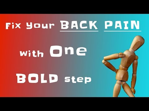 Fix your BACK PAIN and tension with one BOLD step, and earn some $$$.