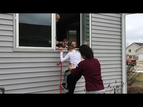 Practicing Your Fire Escape Plan with Michele of A&J Property Restoration | Madison and Milwaukee WI