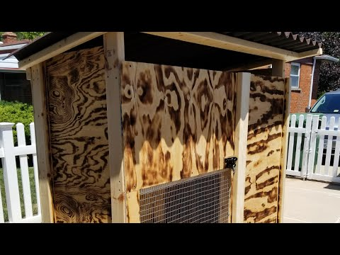 How to build a Rabbit Cage Hutch
